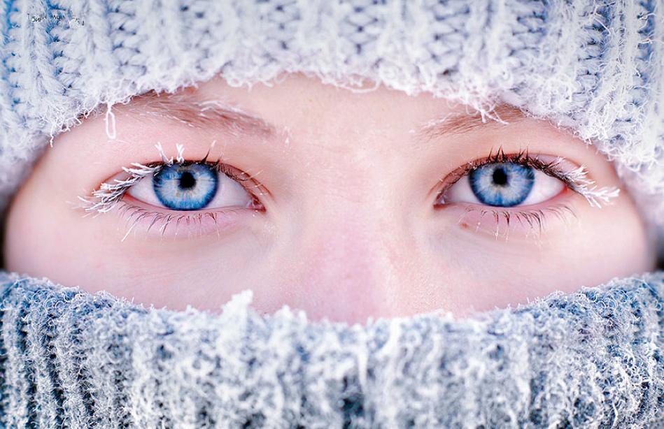 Забота о глазах зимой