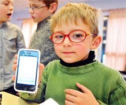Современные гаджеты и близорукость у детей.